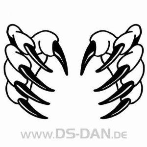 - Auto Aufkleber Krallen Aufkleber Krallen 011 FO-CLAW011
