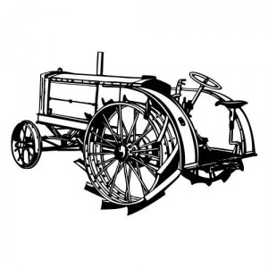 Auto aufkleber tribal autoaufkleber wandtattoo for Traktor wandtattoo