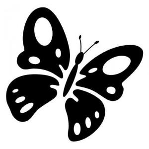 Folienaufkleber Motiv Schmetterling 04